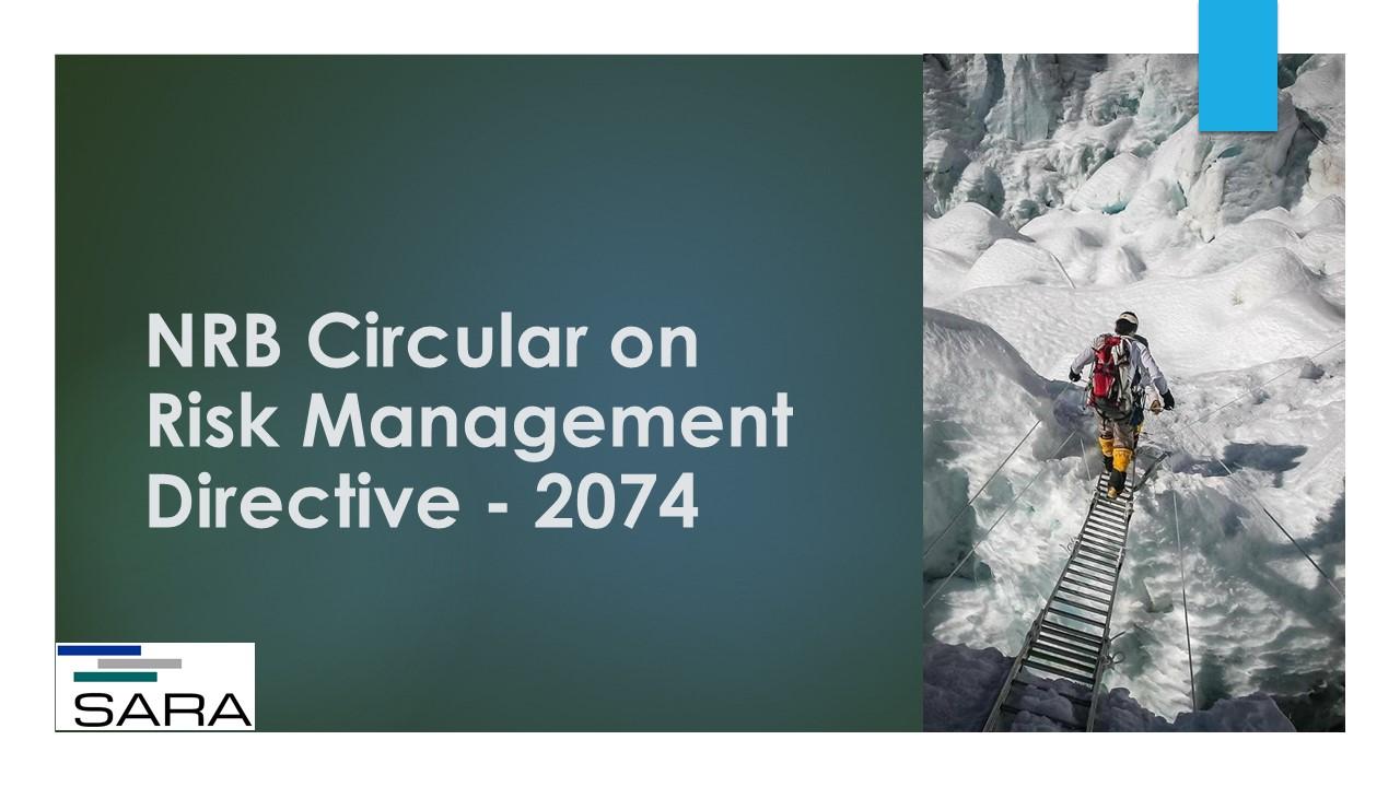 NRB Circular on Risk Management Directive - 2074