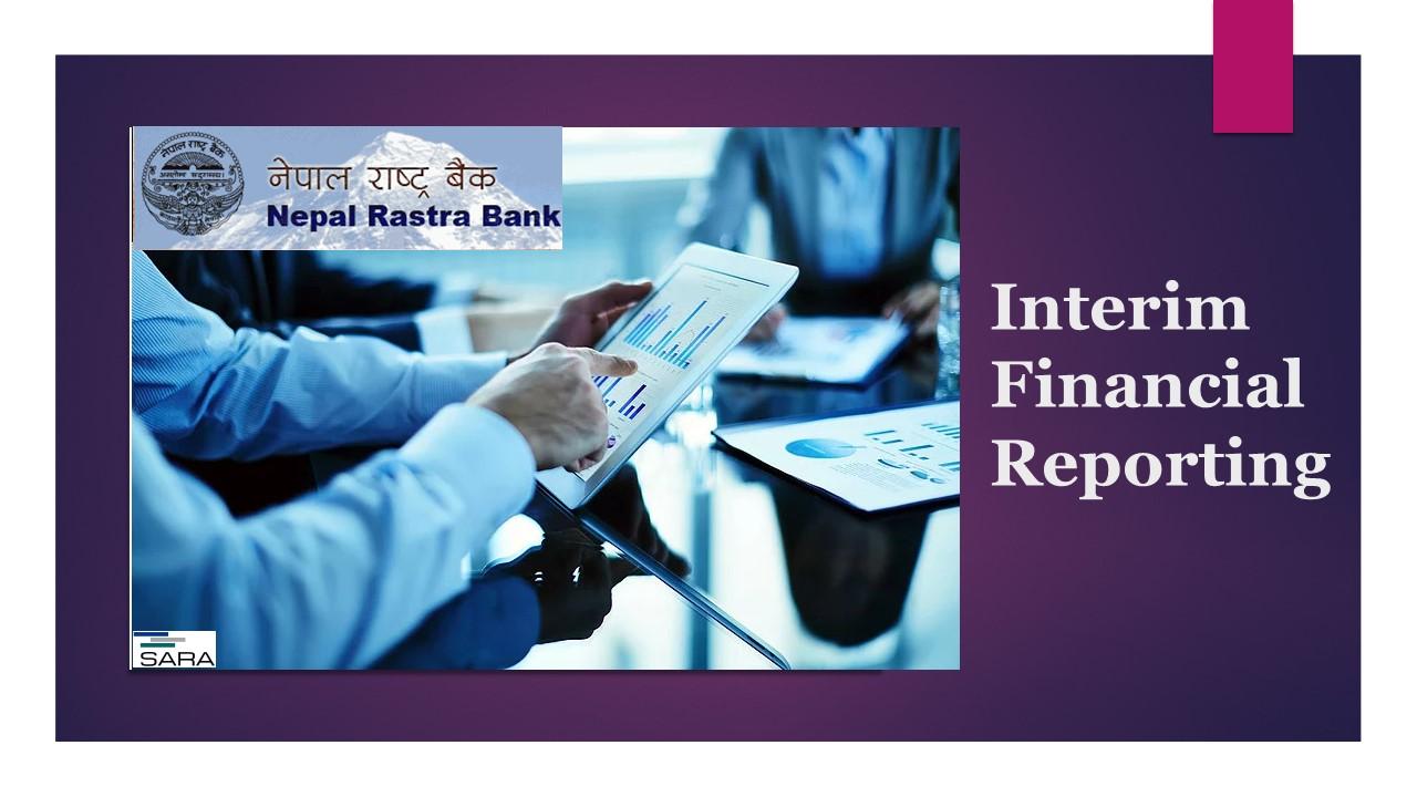 NRB prescribed format of Quarterly Financial Statement - Falgun 2075